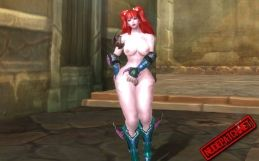 Aion: Asmodian nude skins