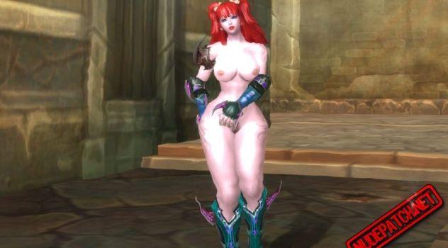 Aion: Asmodian nude skins