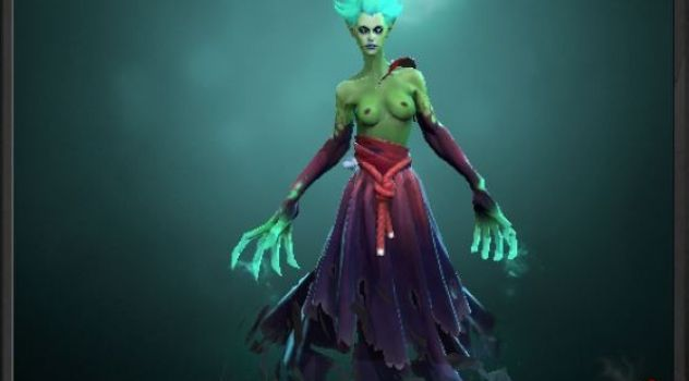 Dota 2: Death Prophet nude skin