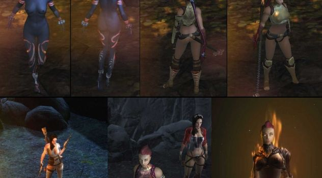 Dungeon Siege 3: nude patch