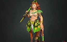 Dota 2: Enchantress nude mod