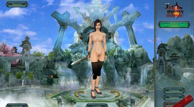 Jade Dynasty Vengeance: nude mod