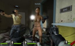 Left 4 Dead 2: Rochelle nude patch
