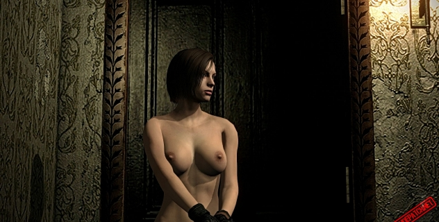 Resident Evil HD Remaster: nude mod for Jill Valentine