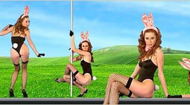 Lucie T  Bunny, Desktop Nude Patch, Skinny