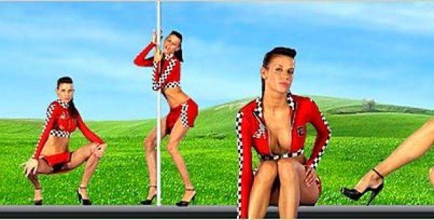 Virtual Girl Zoe, desktop: Best Lap Stripper..