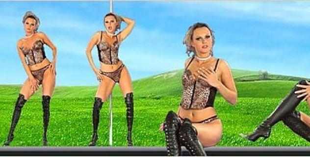Sandra Sanchez Lingerie, High Heels