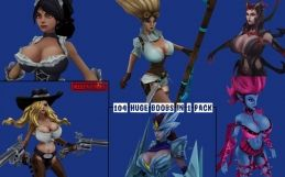 League of Legends: Huge Boobs Edition