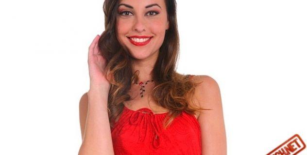 Virtual Girl Lorena, desktop: Sangria Stripper..