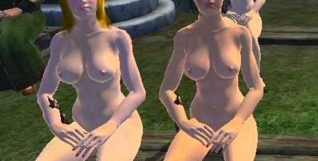 NPC Females elder nude mod