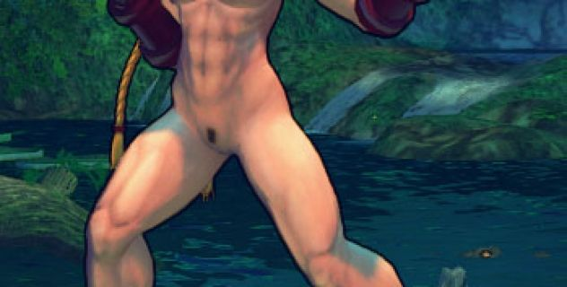 Super Street Fighter IV – Cammy nude Boobs