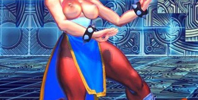 Street Fighter X Tekken nude mod Chun Li