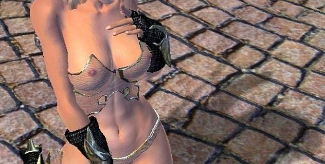 Oblivion full armor nude mod