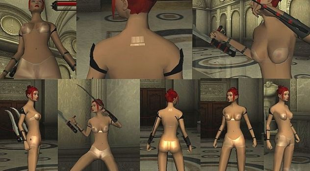 Plastic Underwear Rayne Nudity hack