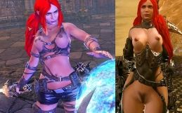 Blades of Time nude mod – Heavenly Sword