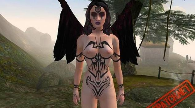 Fallen Angels Morrowind nude mod