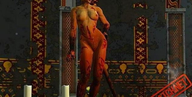 Dark Messiah Xana Demoness nude skins