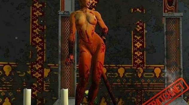Dark Messiah Xana Demoness nude skins