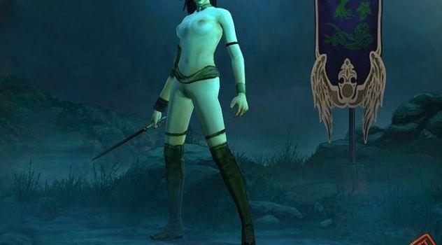 Diablo3 nude skins Wizard