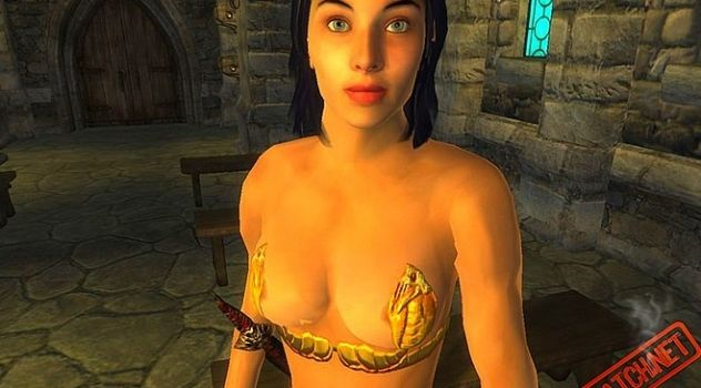 Adults nude mod for Oblivion