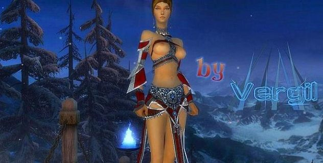 Guild Wars naked Geordina mod