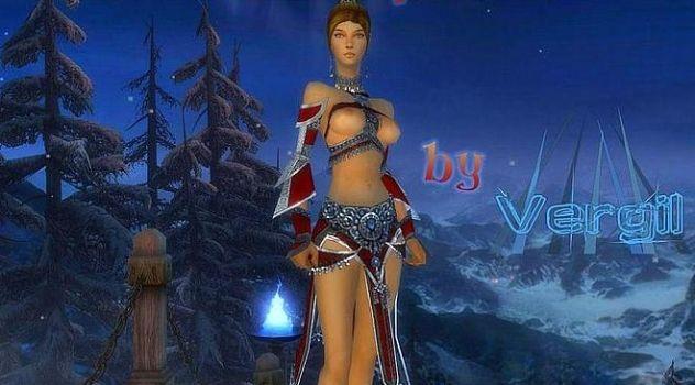 Guild Wars naked Geordina mod