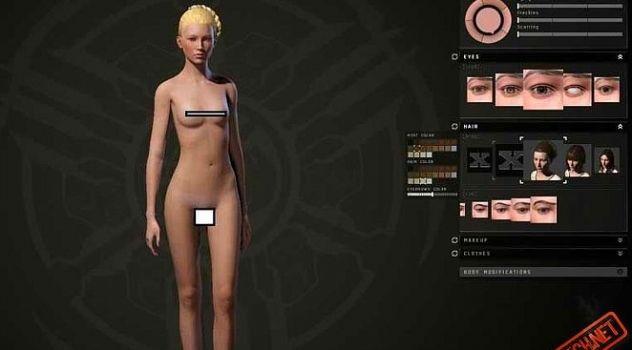 Eve Incursion nude mod