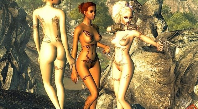 Fallout naked mods