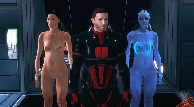 Mass effect nude skins