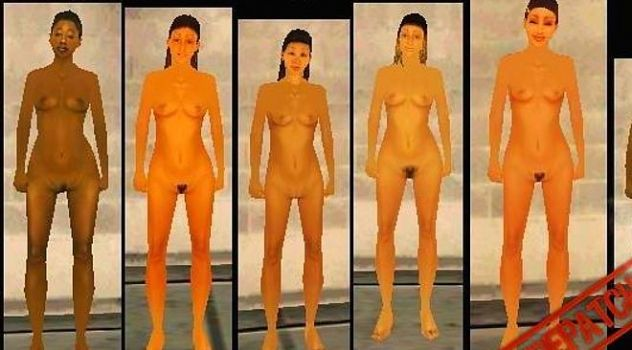 Nude friends GTA San Andreas nude mod