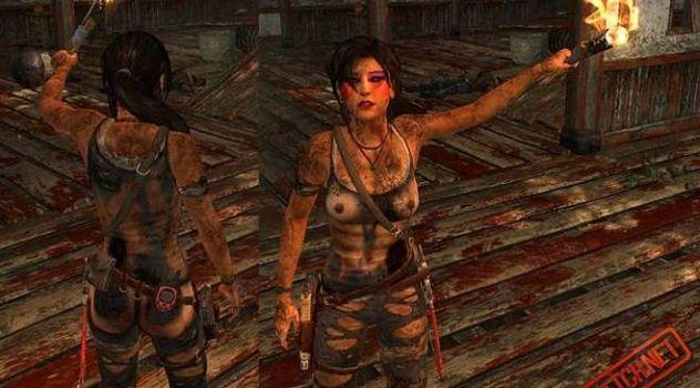 Lara croft 2013 nude mod  – Dirty n Ripped