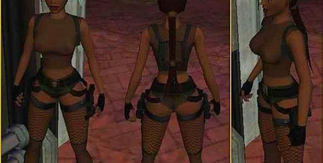 Nude tombraider 6