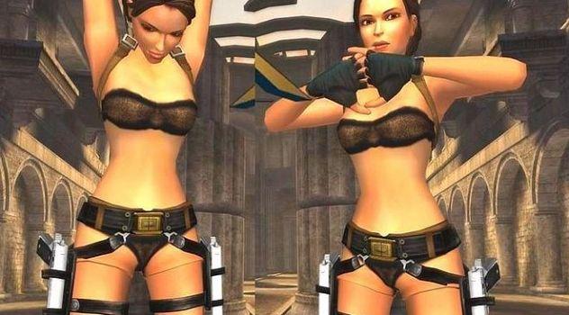 Tomb raider Anniversary nude skins