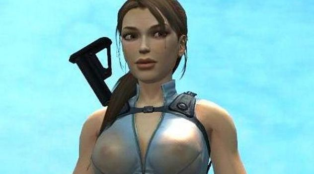 Tomb raider underworld bathing suit