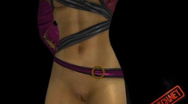 Mortal Kombat: Komplete Edition nude skins Mileena
