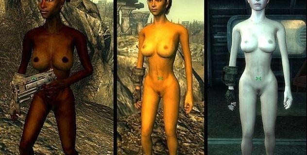 Fallout 3 Malos Nude Skins
