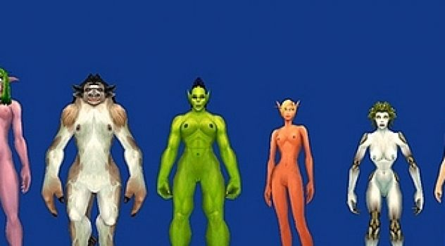 WoW Nude Skin Pack