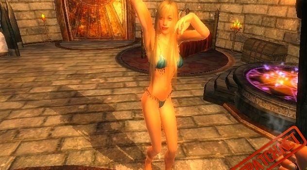 Erotic Dance Oblivion mod