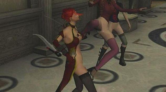 Punk Female Nude