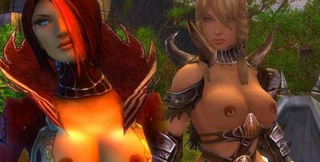 Guild Wars Jora and Livia Nude patch