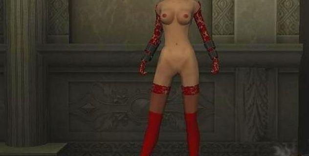 Bloodrayne nude skin v2