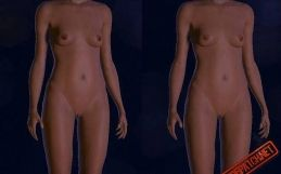 Shepard nude patch for Mass Effect 3