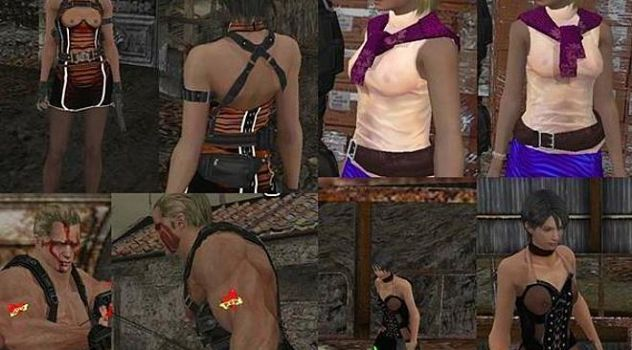 Resident evil 4 nude patch