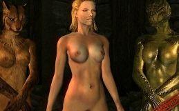 Skyrim female nude mod