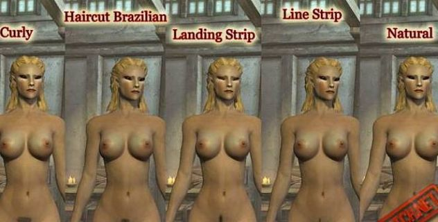 Skyrim nude female Pack – HighRes