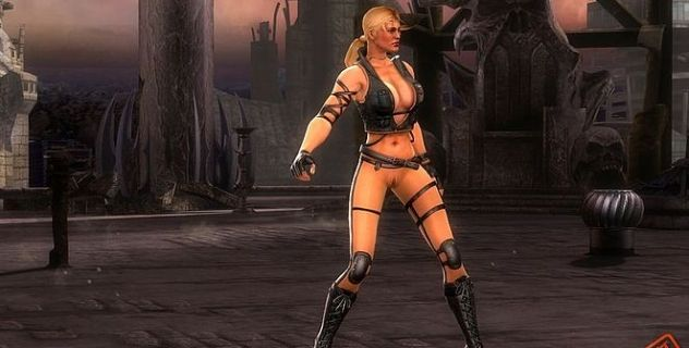Mortal Kombat 9 nude mod Sonya Blade