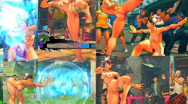 Chun Li Full Nude for Super Street Fighter IV AE
