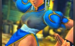 Naughty Chun Li nude skins for Street Fighter IV
