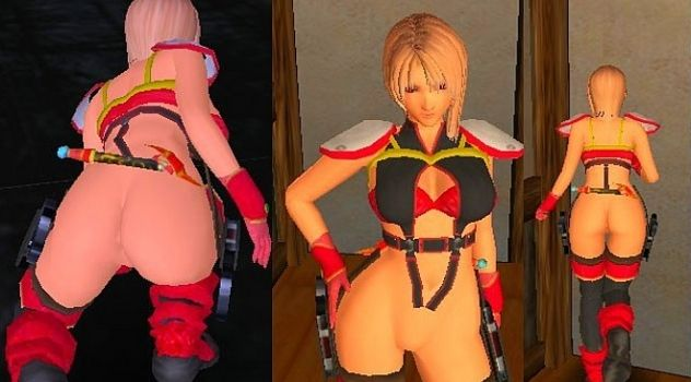 A-GA nude mod No Panty