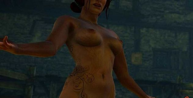 Witcher 2 nude mod Triss Merigold